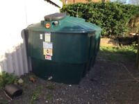 2700 litre harlequin bunded diesel tank in excellent condition