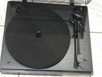 Linn Basik LV X Tonearm With Revolver 2 Speed Vintage Classic Style Turntable With New A&R P77