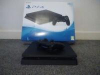 PS4 slim new boxed + Project Cars 2 + Gran Turismo + Fifa