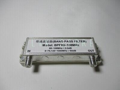High Rejection Bandpass Filter Band Pass Filter Bpf88-108mhz