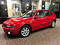 2005 05 Seat Leon 1.9 Tdi Diesel 2 Owners From Full Service History Excellent Condition