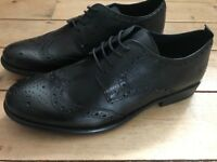Men's Black Brogues from NEXT - Size 9 - BNWT