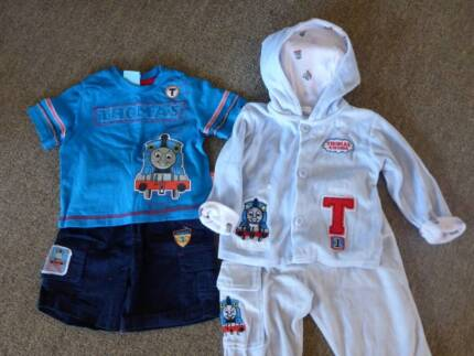 Thomas the Tank Engine 2 x CLOTHNG SETS - size 0 Albany Creek Brisbane North East Preview