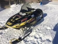 Great sled very low miles