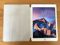 IPad Air 2 - 128GB - Silver - WiFi - with Apple Smart Cover & optional Incase Sleeve