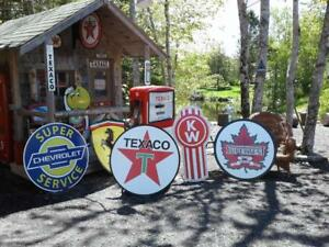 CLASSIC  GASOLINE SIGNS