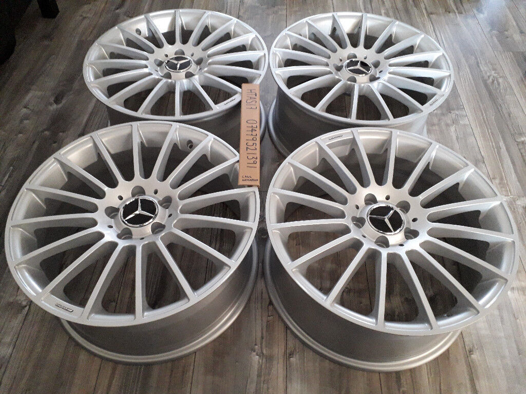 18 Quot Mercedes A45 Amg Line Style Alloy Wheels For A C E