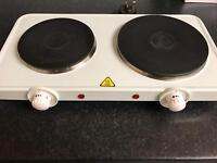 Two rings hot plate