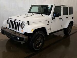 2017 Jeep WRANGLER UNLIMITED Sahara +Hitch, A/C, Navigation+