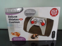 Homedics Deluxe Shiatsu Cushion with Remote Control
