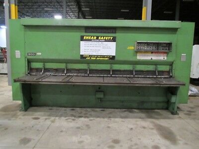 Cincinnati Series 500 Hydraulic Shear 12 X 12