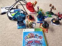 Xbox 360 skylanders trap team starter pack and 9 figures