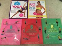 Health/Exercise workout books
