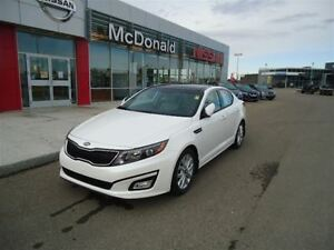 2015 Kia Optima EX - Leather, Pano Roof, One Owner