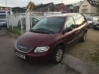 Chrysler Voyager 2.5 CRD 5dr MPV ** 7 SEATER ** DIESEL ** 8 MONTHS MOT ** SERVICE HISTORY **