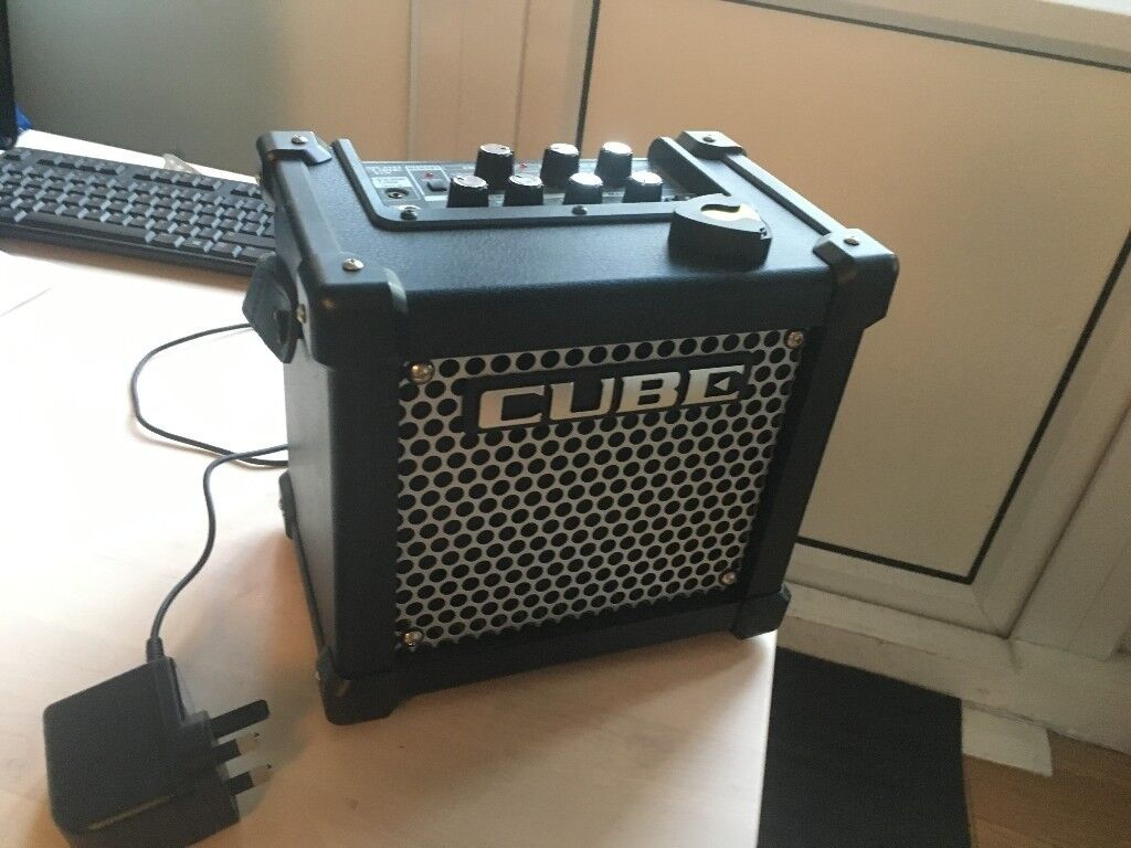 roland micro cube gx amplifier in victoria park london gumtree. Black Bedroom Furniture Sets. Home Design Ideas