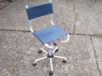 SWIVEL OFFICE CHAIR WITH ADJUSTABLE HEIGHT £8