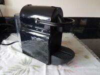 Black Nespresso Coffe Machine