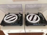 Audio-Technica AT-LP120USB Turntable PAIR - Original Boxes & instructions
