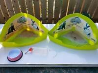 Rabbit / Guinea pig accessories/ toilet water bottle bowl