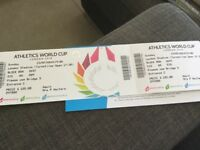 Athletic World Cup tickets for sale.