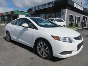 2012 Honda Civic Coupe EX (Sunroof,  Keyless, Si Mag Wheels, COU