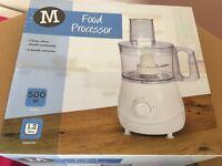 Morrisons food processor new still in package