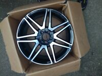 "MERCEDES E-CLASS 19"" AMG ALLOY WHEEL PART NA- A2124011900 Front."