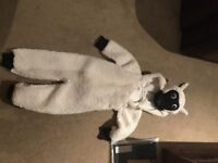 Sheeps children's costume age 3-4