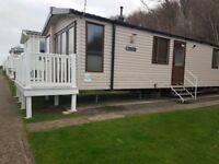 Platinum caravan at Littlesea Weymouth 3 bed DG and CH Sea views