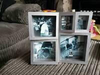 Sliver picture frame