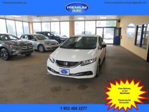 2014 Honda Civic DX $104 B/W oac