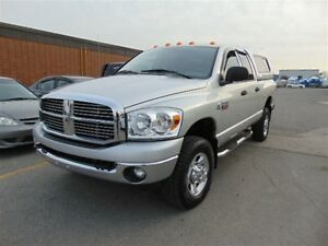 2008 Dodge Ram 2500 4X4 DIESEL WITH CAP, SHORT  BOX