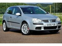 2005 Volkswagen Golf 1.4 FSI S 3dr+JUST SERVICED+READY TO DRIVE AWAY+12 MONTHS MOT