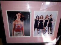 SEX IN THE CITY SIGNED PHOTO's IN DISPLAY FRAME