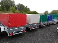 New Trailer 7.7 x 4.2 cover free £870 inc VAT