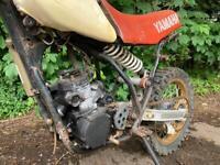 Yamaha YZ 250J for restoration.