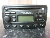 FORD 6000 RDS CAR RADIO CD PLAYER - TRANSIT FOCUS CONNECT MONDEO PUMA FIESTA