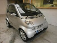 2003 SMART CITY COUPE PASSION 0.7 3DOOR, PANORAMIC ROOF, SERVICEHISTORY, HPI CLEAR, LOW MILES 51K