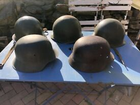 ww2 items helmets gas mask