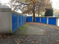 Large lock-up garage on secure site available in Chatham for vehicle or goods storage