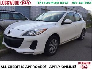 2012 Mazda MAZDA3 GX - AS IS ONE OWNER TRADE