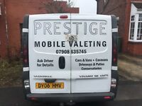 Mobile valeting service we come to u