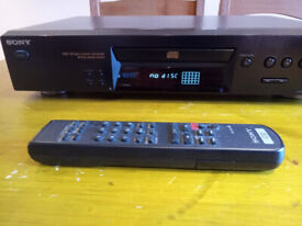 Sony CD Player, Separate, with Remote Control. Good condition, CDP-ex370