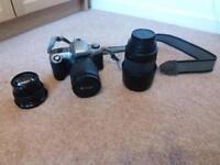 Nikon F65 film camera