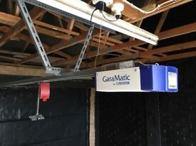 Automatic Electric up and over garage door device