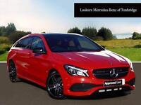 Mercedes-Benz CLA CLA 220 D AMG LINE (red) 2017-03-07