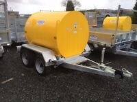 Fuel bowser ADR fully bunded tank trailer farm tractor digger dale kane