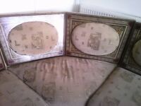 8 piece moroccan sofa corner arabian style with coffee table Good Condition ONLY £160 yhb