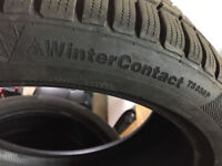 Winter Tyres 225/40 18 inch Continental WinterContact TS850P